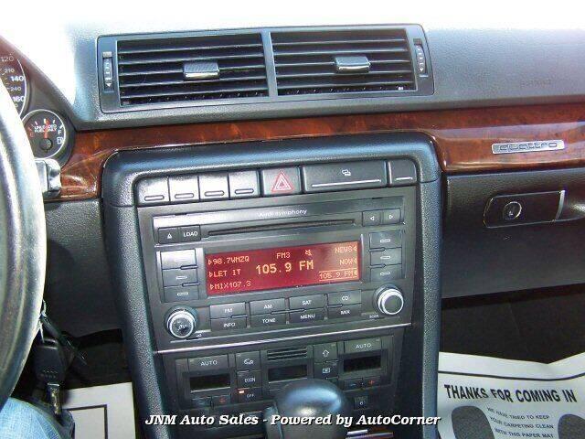 2008 Audi A4 2.0T quattro with Tiptronic Automatic - Leesburg VA