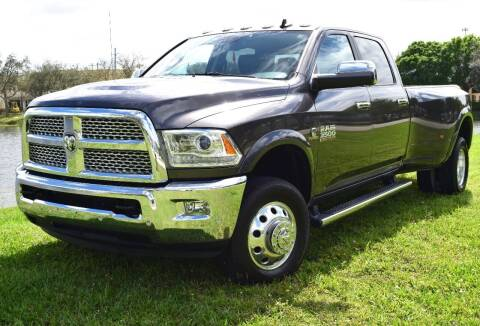 2016 RAM Ram Pickup 3500 for sale at Thoroughbred Motors in Wellington FL