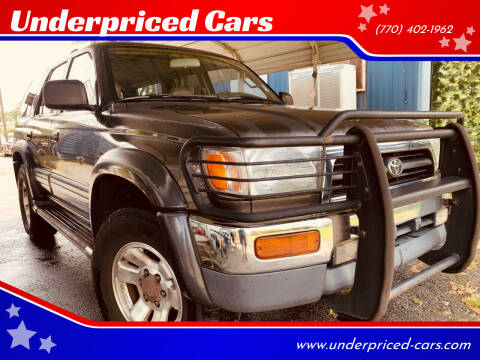 1998 Toyota 4Runner for sale at Underpriced Cars in Marietta GA