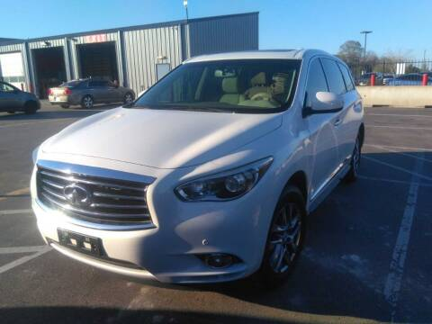 2013 Infiniti JX35 for sale at Don Auto World in Houston TX