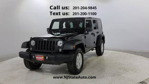 2018 Jeep Wrangler JK Unlimited for sale at NJ State Auto Used Cars in Jersey City NJ