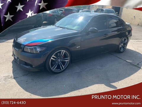 2006 BMW 3 Series for sale at Prunto Motor Inc. in Dearborn MI