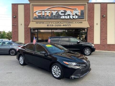2018 Toyota Camry for sale at CITY CAR AUTO INC in Nashville TN