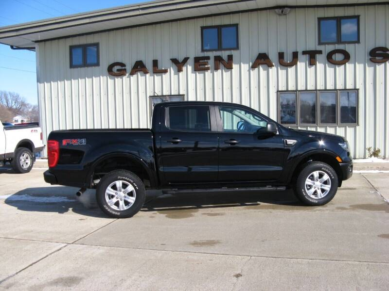 2019 Ford Ranger for sale at Galyen Auto Sales Inc. in Atkinson NE