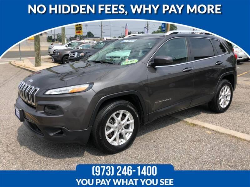 2014 Jeep Cherokee for sale at Route 46 Auto Sales Inc in Lodi NJ