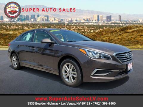 2017 Hyundai Sonata for sale at Super Auto Sales in Las Vegas NV