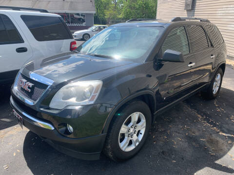 2010 GMC Acadia for sale at PETE'S AUTO SALES LLC - Middletown in Middletown OH