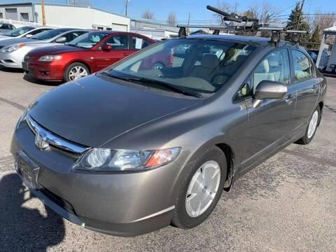 2007 Honda Civic for sale at RABI AUTO SALES LLC in Garden City ID