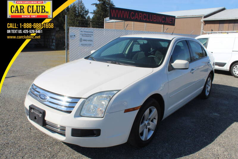 2008 Ford Fusion for sale in Burien, WA
