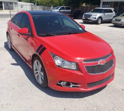 2014 Chevrolet Cruze for sale at Apex Auto SA in San Antonio TX