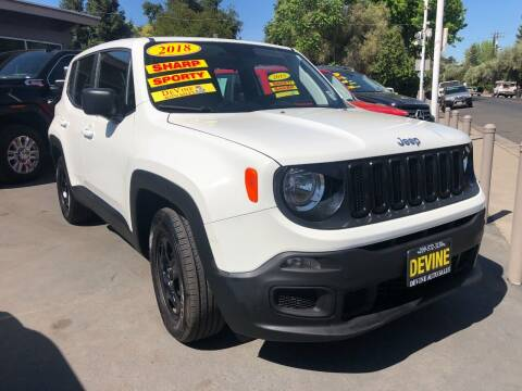 2018 Jeep Renegade for sale at Devine Auto Sales in Modesto CA