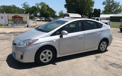 2011 Toyota Prius for sale at Cordova Motors in Lawrence KS