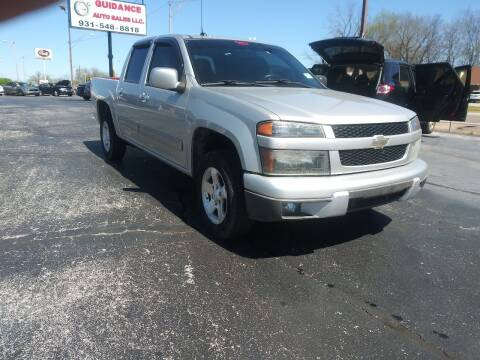 2010 Chevrolet Colorado for sale at Guidance Auto Sales LLC in Columbia TN