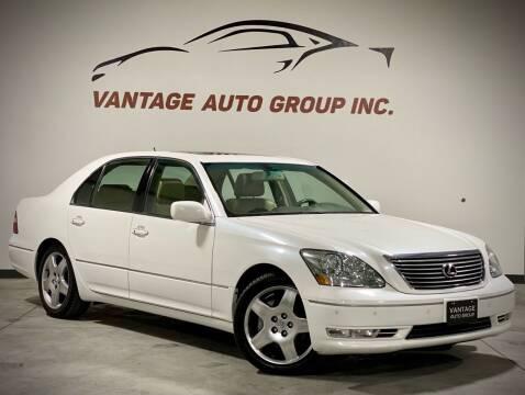 2005 Lexus LS 430 for sale at Vantage Auto Group Inc in Fresno CA