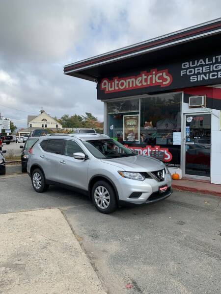 2016 Nissan Rogue for sale at AUTOMETRICS in Brunswick ME