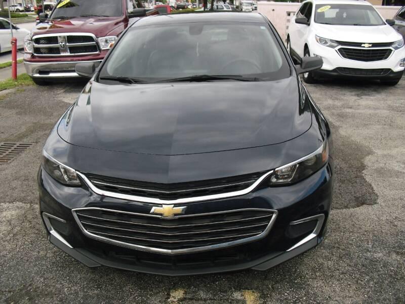 2016 Chevrolet Malibu for sale at SUPERAUTO AUTO SALES INC in Hialeah FL
