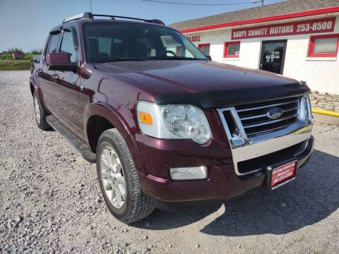 2007 Ford Explorer Sport Trac for sale at Sarpy County Motors in Springfield NE
