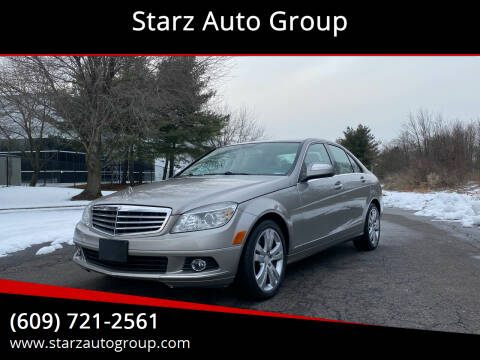 2009 Mercedes-Benz C-Class for sale at Starz Auto Group in Delran NJ