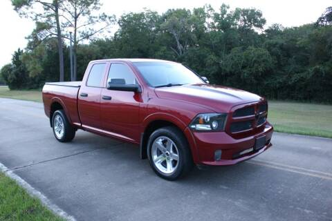 2013 RAM Ram Pickup 1500 for sale at Clear Lake Auto World in League City TX