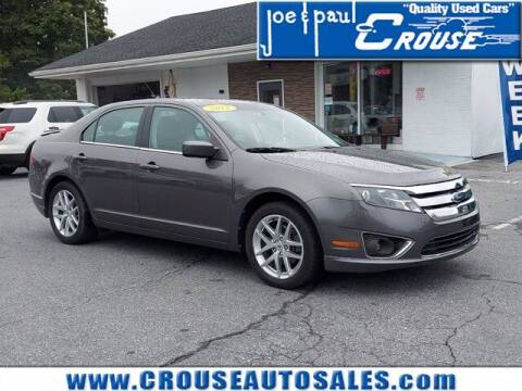 2012 Ford Fusion for sale at Joe and Paul Crouse Inc. in Columbia PA
