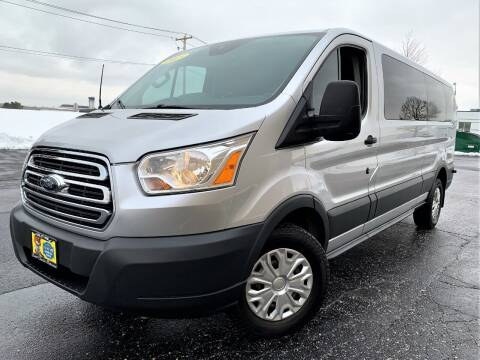 2015 Ford Transit Passenger for sale at SAINT CHARLES MOTORCARS in Saint Charles IL