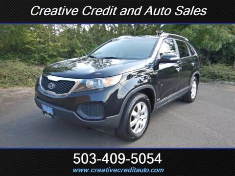 2013 Kia Sorento for sale at Creative Credit & Auto Sales in Salem OR