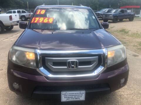 2010 Honda Pilot for sale at Dime A Dozen Auto Sales LLC in Raymond MS