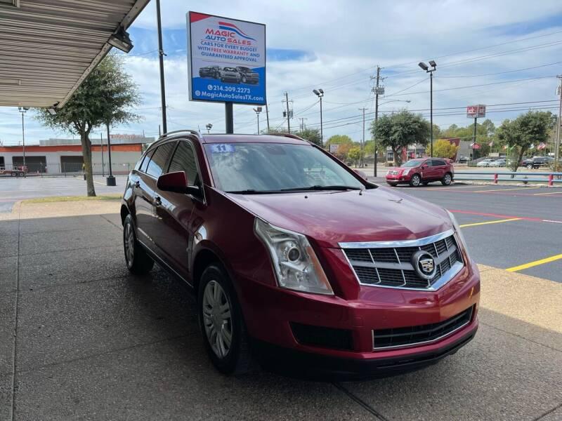 2011 Cadillac SRX for sale at Magic Auto Sales in Dallas TX
