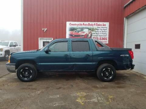2005 Chevrolet Avalanche for sale at Countryside Auto Body & Sales, Inc in Gary SD