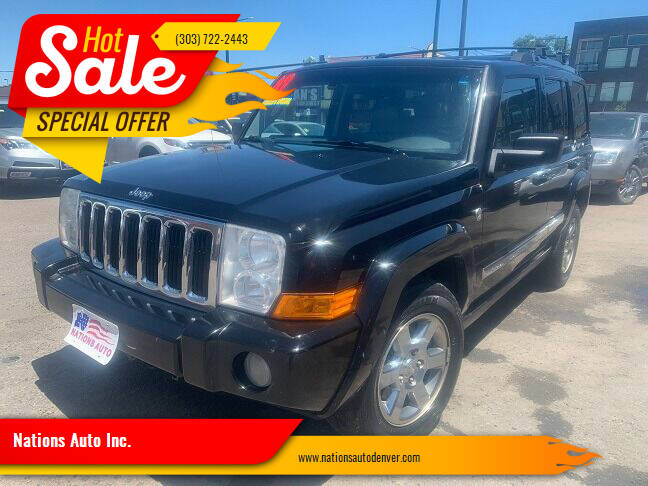 2007 Jeep Commander for sale at Nations Auto Inc. in Denver CO