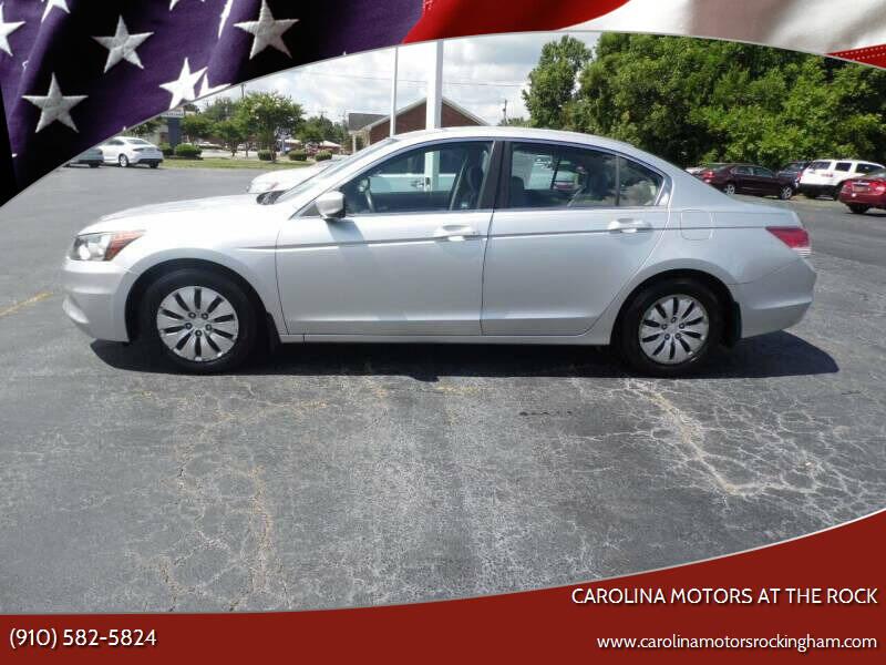2012 Honda Accord for sale at Carolina Motors in Thomasville NC