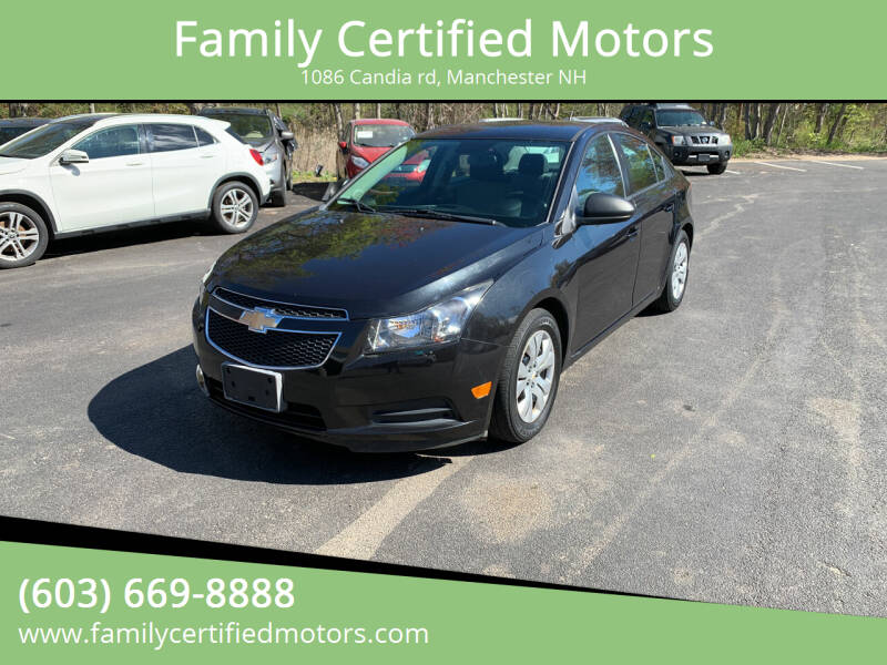 2014 Chevrolet Cruze for sale at Family Certified Motors in Manchester NH