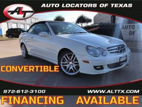 2009 Mercedes-Benz CLK for sale at AUTO LOCATORS OF TEXAS in Plano TX