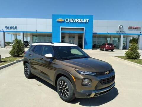 2021 Chevrolet TrailBlazer for sale at Vance Fleet Services in Guthrie OK