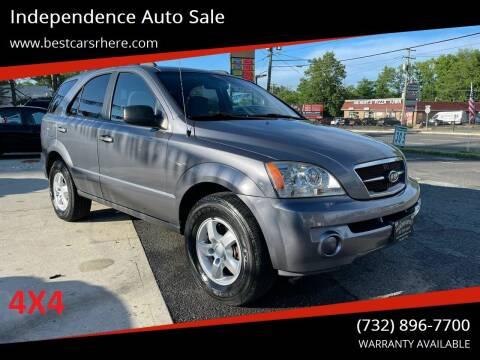 2006 Kia Sorento for sale at Independence Auto Sale in Bordentown NJ
