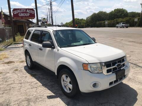 2010 Ford Escape for sale at Quality Auto Group in San Antonio TX