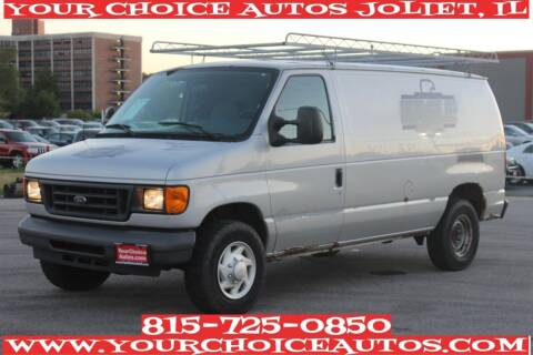 2007 Ford E-Series Cargo for sale at Your Choice Autos - Joliet in Joliet IL