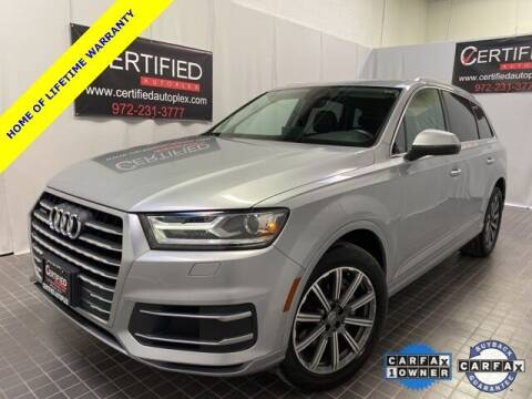 2018 Audi Q7 for sale at CERTIFIED AUTOPLEX INC in Dallas TX