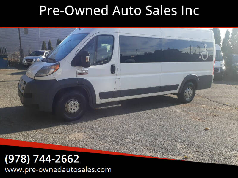 2015 RAM ProMaster Cargo for sale at Pre-Owned Auto Sales Inc in Salem MA