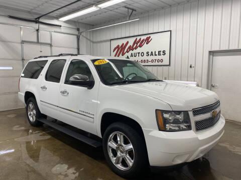 2012 Chevrolet Suburban for sale at MOLTER AUTO SALES in Monticello IN
