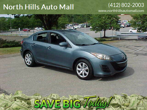 2010 Mazda MAZDA3 for sale at North Hills Auto Mall in Pittsburgh PA