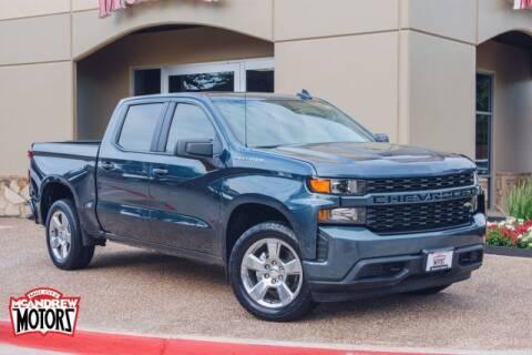 2021 Chevrolet Silverado 1500 for sale at Mcandrew Motors in Arlington TX
