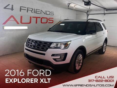 2016 Ford Explorer for sale at 4 Friends Auto Sales LLC in Indianapolis IN