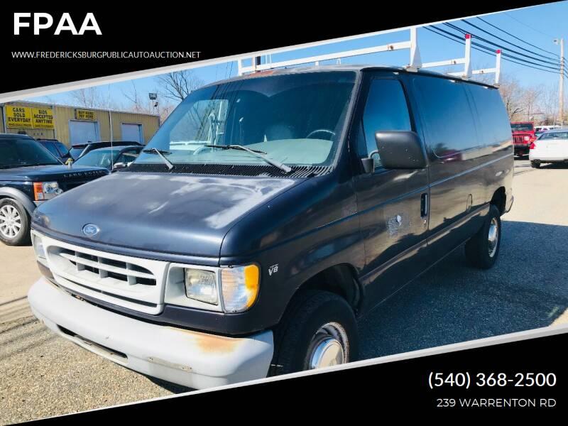 1999 Ford E-250 for sale in Fredericksburg, VA
