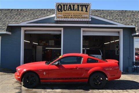 2007 Ford Mustang for sale at Quality Pre-Owned Automotive in Cuba MO