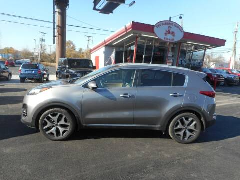 2017 Kia Sportage for sale at The Carriage Company in Lancaster OH