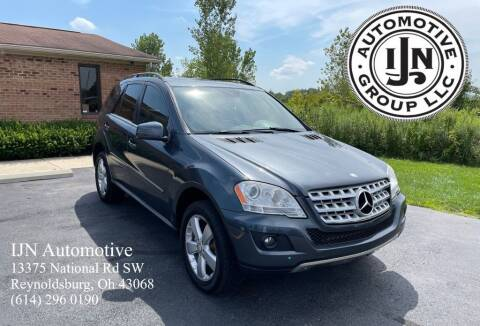 2011 Mercedes-Benz M-Class for sale at IJN Automotive Group LLC in Reynoldsburg OH