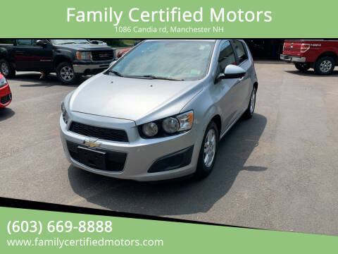 2013 Chevrolet Sonic for sale at Family Certified Motors in Manchester NH