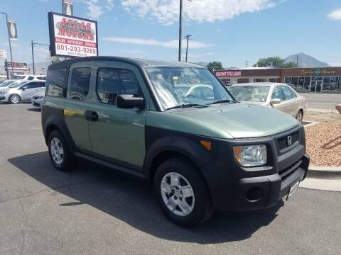 2005 Honda Element for sale at ATLAS MOTORS INC in Salt Lake City UT