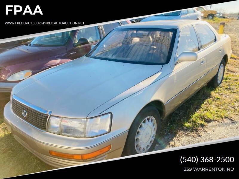 1992 Lexus LS 400 for sale in Fredericksburg, VA